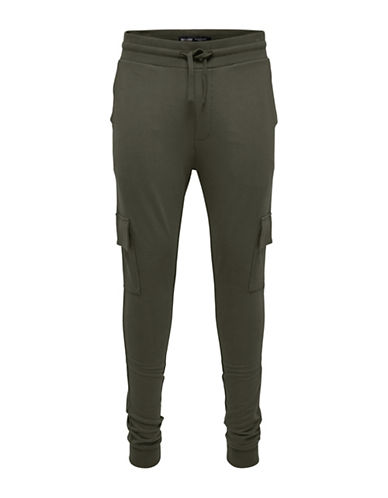 Only And Sons Chino Sweatpants-GREEN-Large
