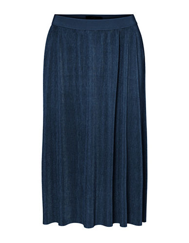 Vero Moda Jackie Knee-Length Skirt-BLUE-X-Small