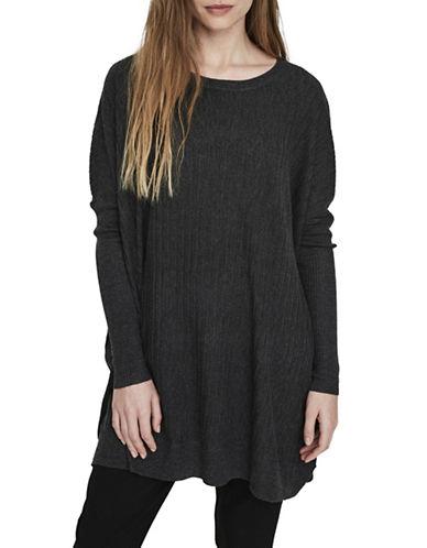 Vero Moda Eva Short Dress-GREY-Medium/Large
