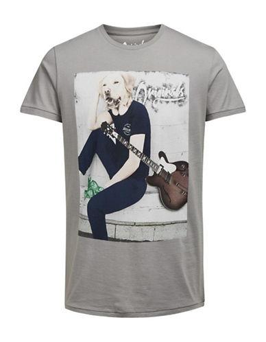 Jack & Jones Dark Days Lama T-Shirt-GREY-Medium