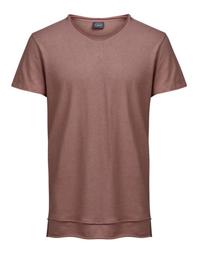 Jack & Jones Jorhem Short Sleeve Cotton Tee-PINK-Large 89306459_PINK_Large