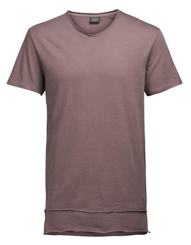 Jack & Jones Jorhem Short Sleeve Cotton Tee-GREY-X-Large