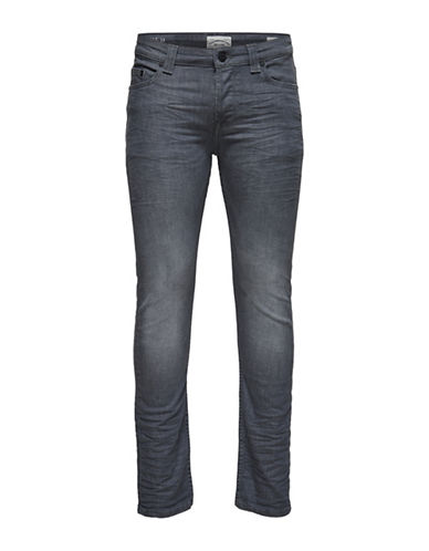 Only And Sons Loom Slim-Fit Jeans-GREY-33X32
