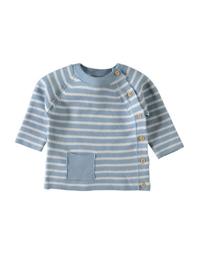 Name It Stripe Cotton Cardigan-BLUE-6 Months