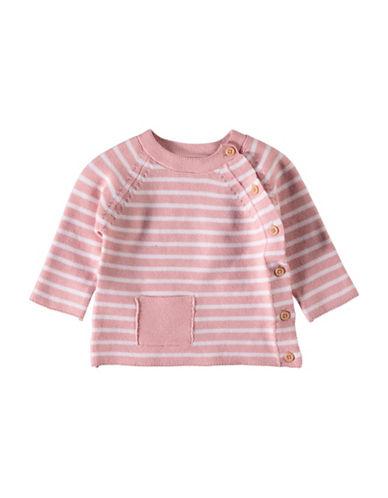 Name It Stripe Cotton Cardigan-PINK-3-6 Months