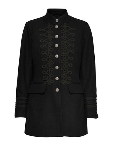 Only Embroidered Jacket-BLACK-Medium