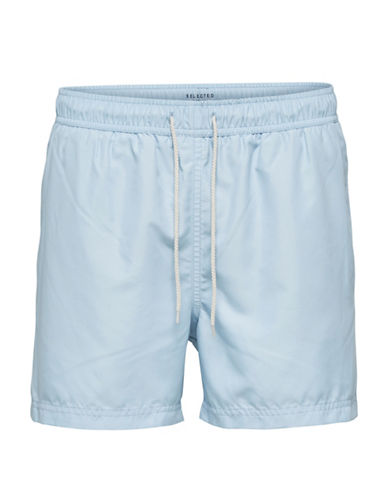 Selected Homme Classic Swim Shorts-BLUE-X-Large 89847946_BLUE_X-Large
