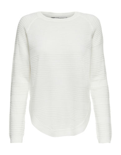 Only Ribbed Long-sleeve Pullover 89977699