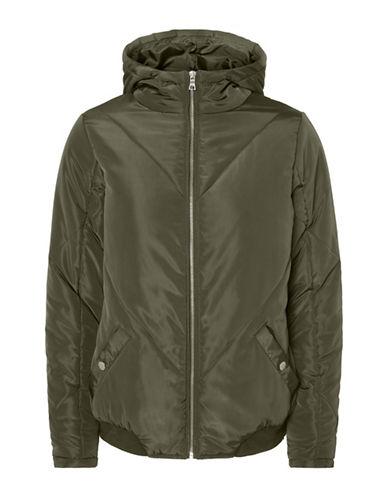 Noisy May Mirja Hooded Jacket-GREEN-X-Small 89659790_GREEN_X-Small