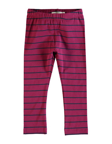 Name It Name It Stripe Leggings-PINK-2T
