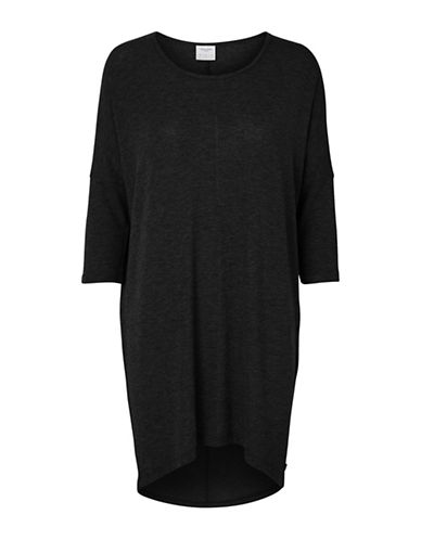Vero Moda Honie Long Top-BLACK-Small