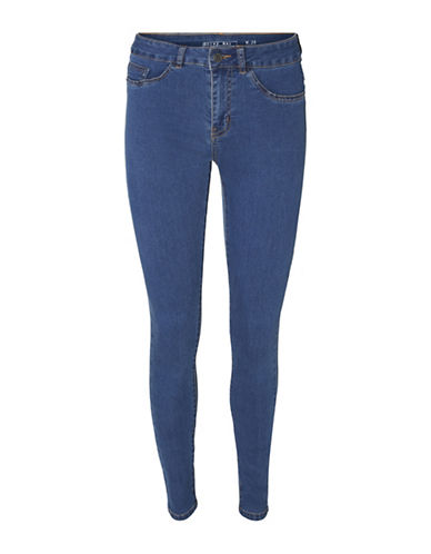 Noisy May Great Lucy Slim Jeans-BLUE-25X32