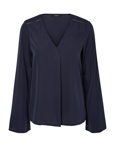 Vero Moda Vanessa Blouse-BLUE-Medium