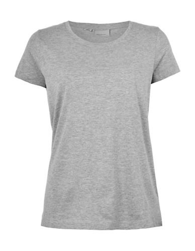 Vero Moda Joy Spicy O-Neck Top-GREY-Large