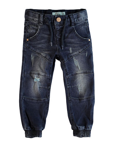 Name It Distressed Jogger Jeans-BLUE-6