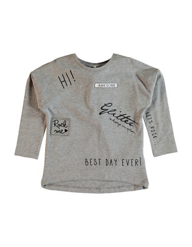 Name It Graphic Long Sleeve Top-GREY-5