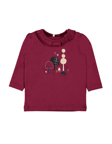 Name It Graphic Print Long-Sleeve Top-PINK-9 Months