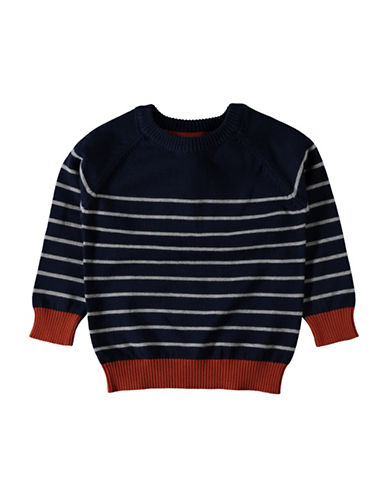 Name It Striped Pullover Sweater-BLUE-2