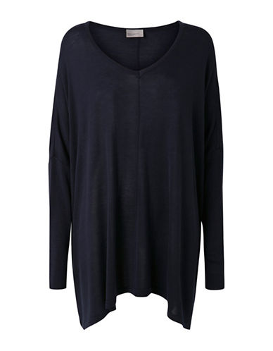 Vero Moda Rubi Meghan Oversize Knit-BLUE-Medium