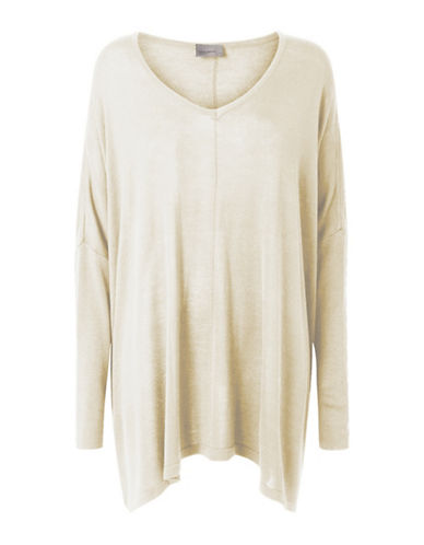 Vero Moda Rubi Meghan Oversize Knit-WHITE-Medium