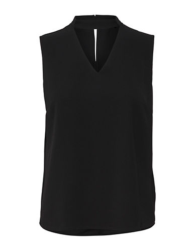 Only onlMYRINA Sleeveless Choker Top-BLACK-40