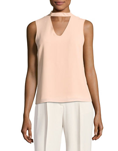 Only onlMYRINA Sleeveless Choker Top-CAMEO ROSE-38