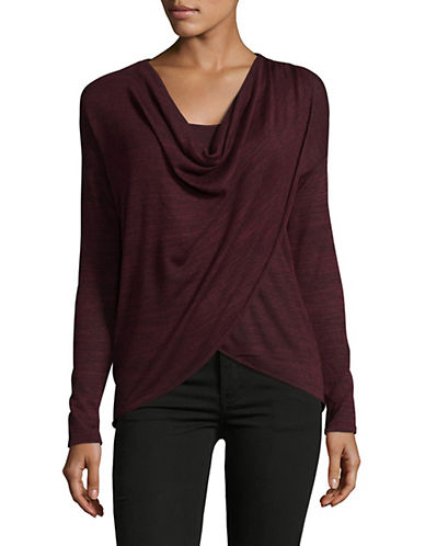 Noisy May Alexa Long Sleeve Top-ZINFANDEL-Medium