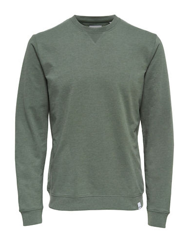 Only And Sons Long-Sleeve Sweatshirt-GREEN-Small