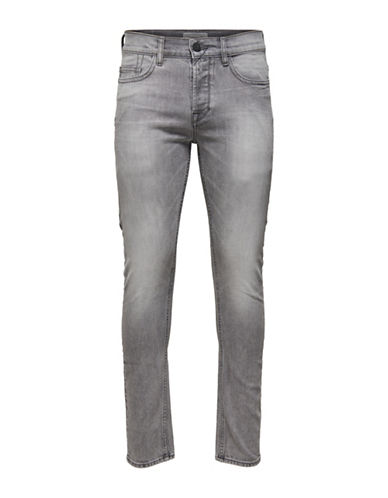 Only And Sons Slim-Fit Jeans-GREY DENIM-28X32