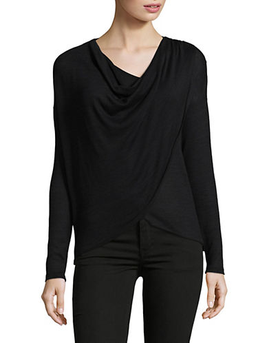 Noisy May Alexa Long Sleeve Top-BLACK-Small