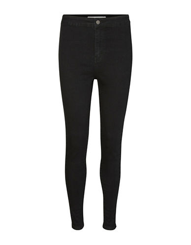 Noisy May Super Slim Skinny Jeans-BLACK-Medium