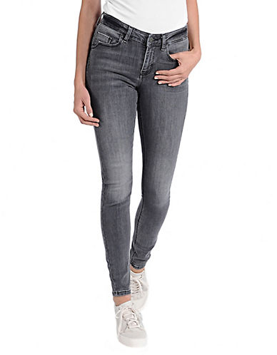 Noisy May Lucy Super Slim Jeans-GREY-29X32