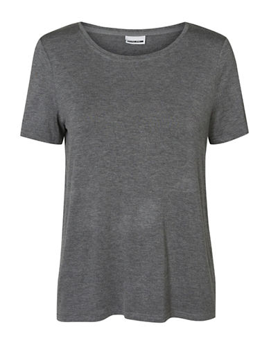 Noisy May Loose Jersey Tee-GREY-Large