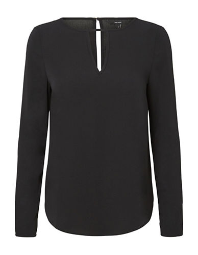 Vero Moda Sachi Long Sleeve Top-BLACK-Small 89687444_BLACK_Small