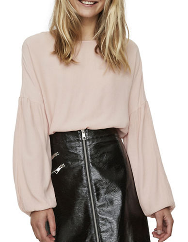 Vero Moda Clay Blouse-PINK-X-Small