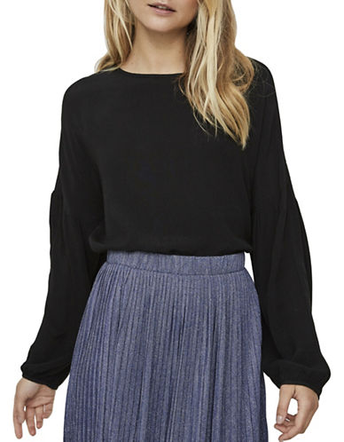 Vero Moda Clay Blouse-BLACK-Small