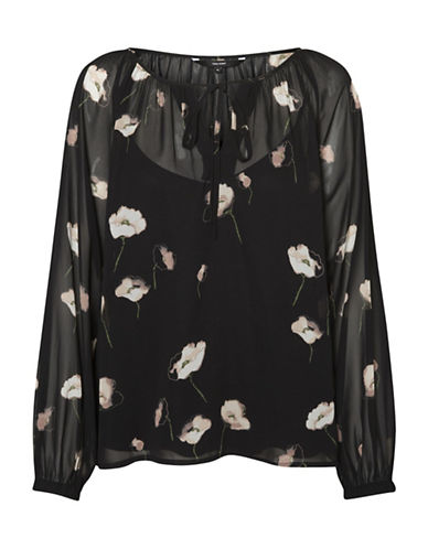 Vero Moda Mia Top-BLACK-X-Small