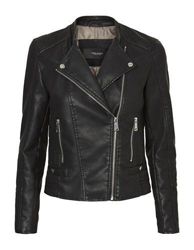 Vero Moda Long Sleeve Jacket-BLACK-Large