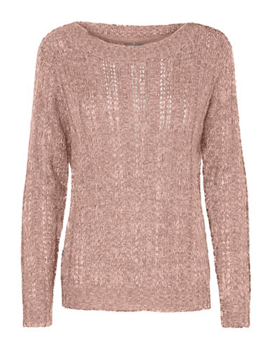 Vero Moda Amanda Jive Knit-PINK-Medium
