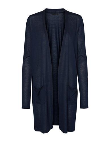 Vero Moda Wilma Jersey Cardigan-NAVY-Small