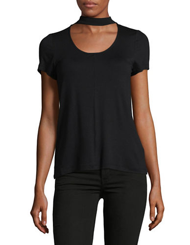 Only Choker T-Shirt-BLACK-Medium