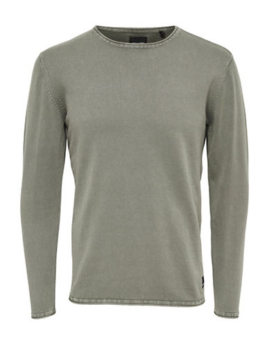Only And Sons Garson Knit Pullover-GREEN-XX-Large