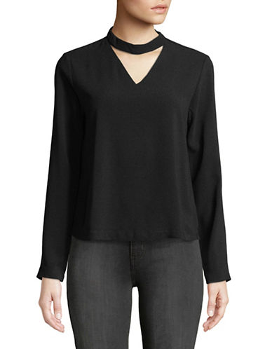Only Alice Choker Top-BLACK-36