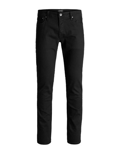 Jack & Jones Classic Slim-Fit Jeans-BLACK-29X32