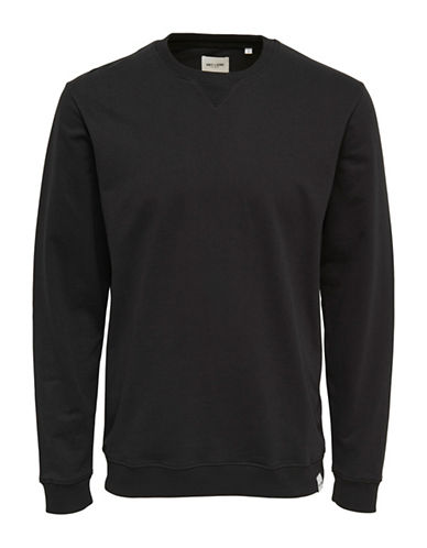 Only And Sons Long-Sleeve Sweatshirt-BLACK-X-Large