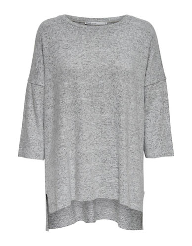 Only New Maye Oversize Sweater-GREY-Medium
