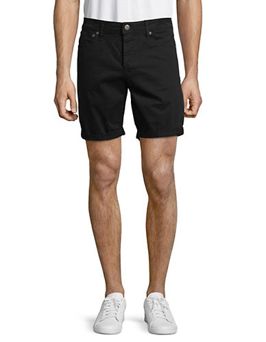 Jack & Jones Rick Original Foldover Shorts-BLACK-XX-Large 89982356_BLACK_XX-Large
