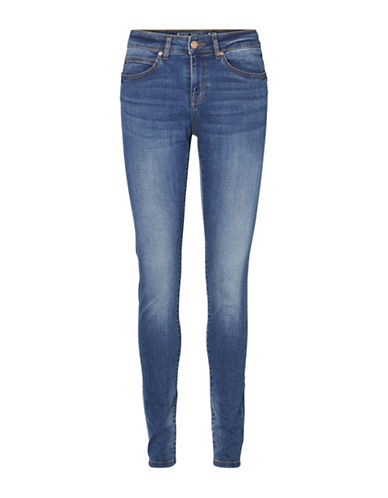 Noisy May Julie Push Up Jeans-BLUE-28X32