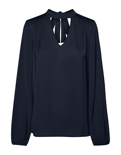 Vero Moda Denise Choker Top-BLUE-Small