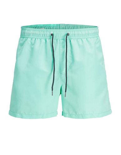 Jack & Jones Drawstring Swim Shorts-BLUE-X-Large 89848228_BLUE_X-Large